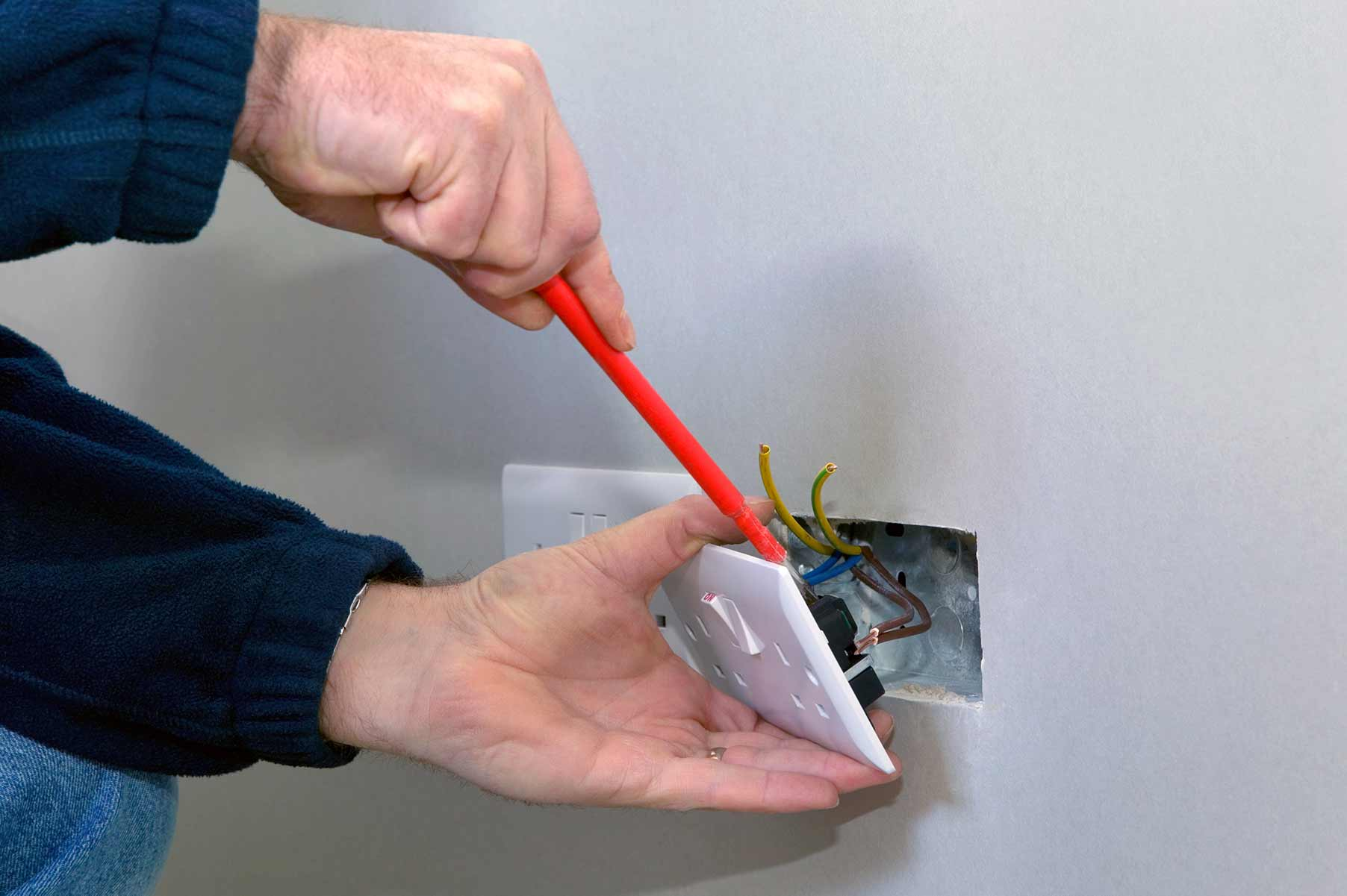 Our electricians can install plug sockets for domestic and commercial proeprties in Wembley and the local area.